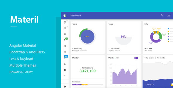 Best Responsive Admin Dashboard Template