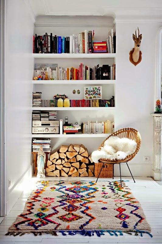 Intérieurs scandinaves et tapis berbères scandinavian interior with berber rugs