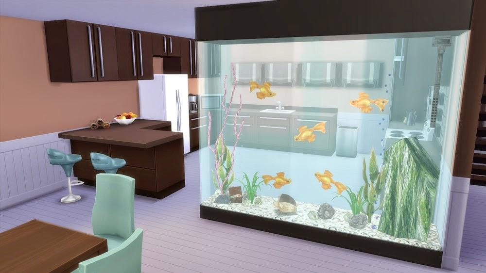 Corporation Quot Simsstroy Quot The Sims 4 Partition Aquarium Decor