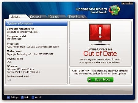 Download UpdateMyDrivers 9.0 With Serial Key Free + Crack