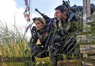 Emily Blunt Tom Cruise All You Need is Kill