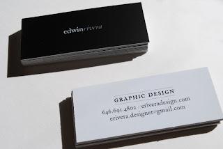 graphic design, business card, edwin rivera, edwin, rivera, design, minicard, moo