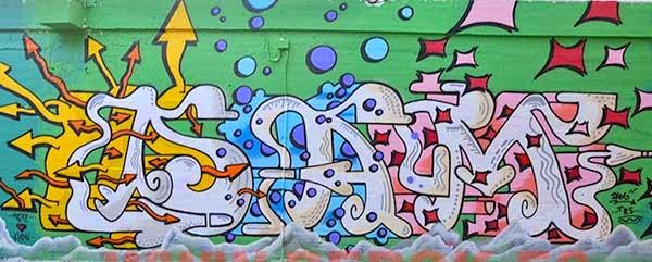 Graffiti Dam 2014
