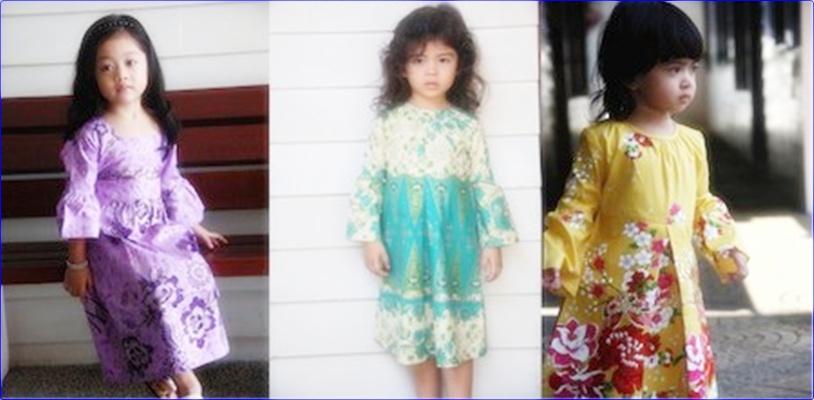 Baju Batik Anak Lucu Baju Batik Anak Perempuan