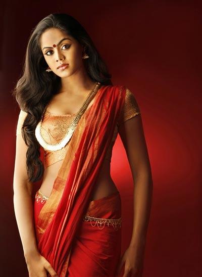 Karthika Nair Hot Navel In Saree CINE INDIAN GALS...