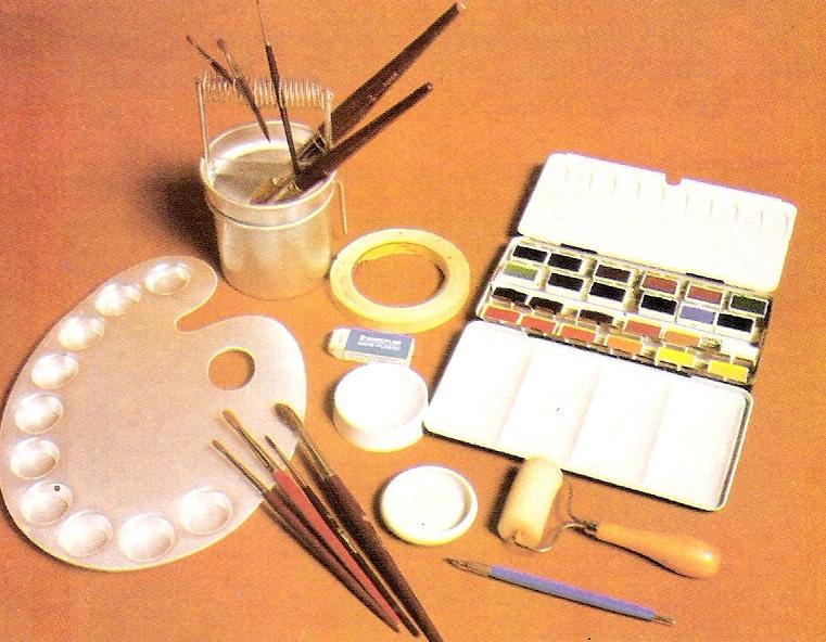 Cuadros modernos pinturas y dibujos el equipo para - Materiales para pintar ...