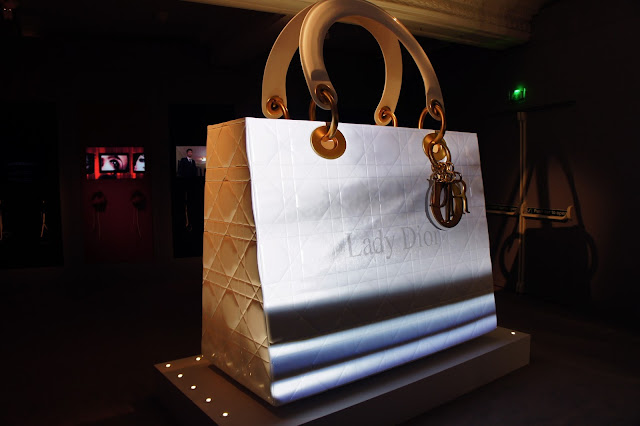 Enormous Lady Dior bag