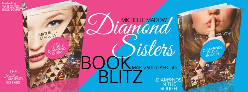 ya bound book tours the secret diamond sisters by michelle madow