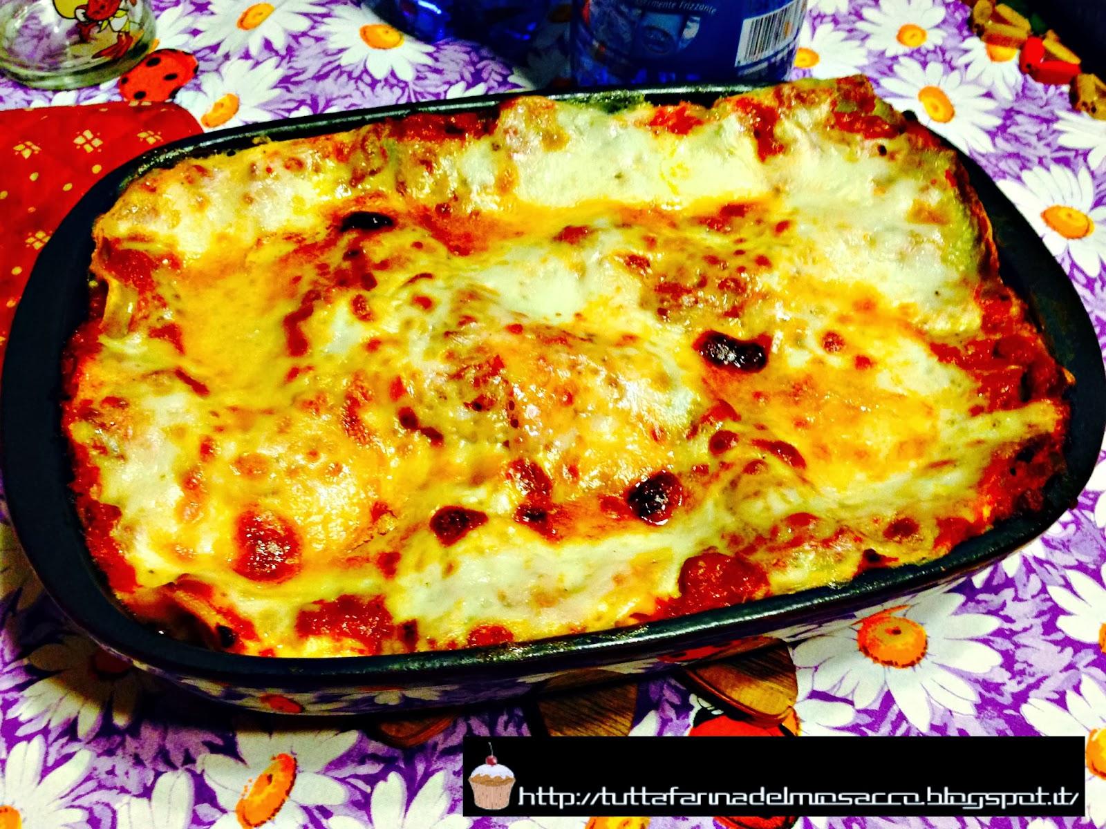 la ricetta delle lasagne al forno