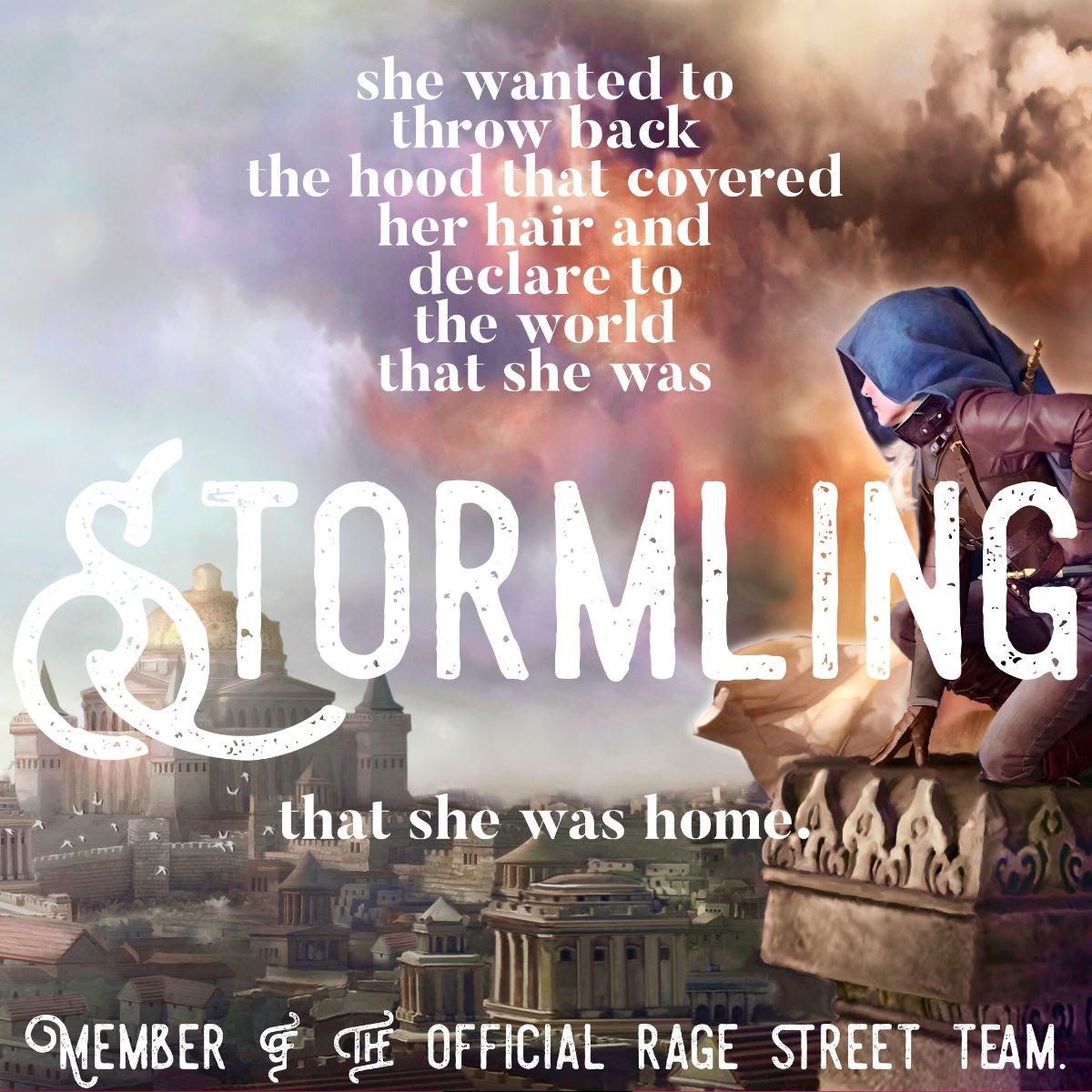 Proud Stormling!