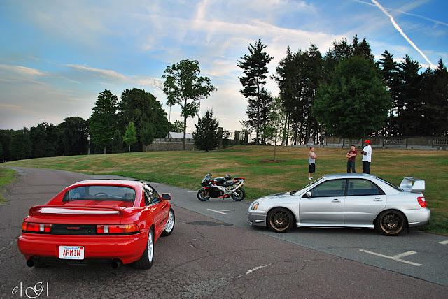 Toyota MR2 W20 & Subaru Impreza II GD, japoński sportowy sedan, samochód, boxer, AWD, RWD