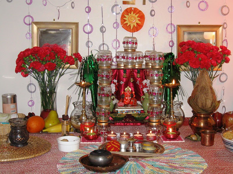 Desikalakar Ganpati Decorations For The Ganpati Festival Celebrations For The Past 6 Years