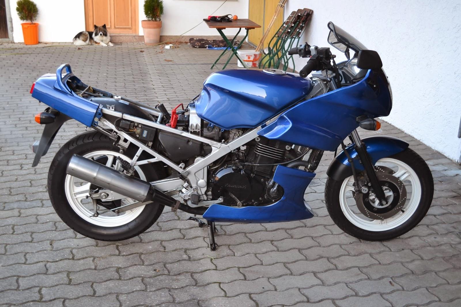 gebrauchte motorradteile schraubertipps kawasaki gpz 500 s ex500a. Black Bedroom Furniture Sets. Home Design Ideas