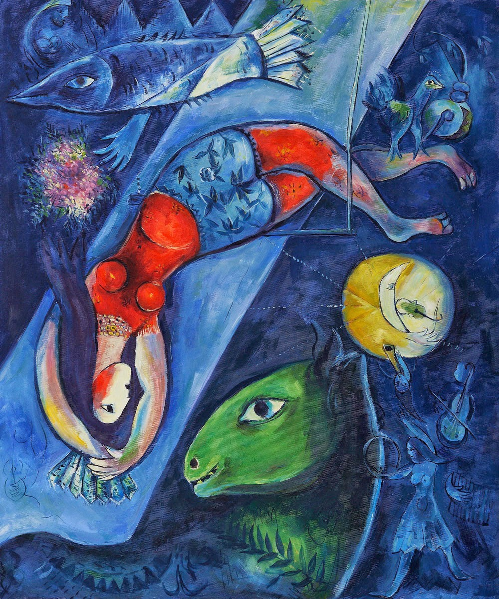 Why Not : A Blog: Marc Chagall: The Colorful The Creative The ...