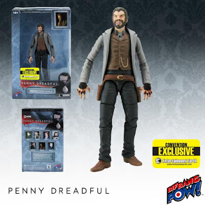 "San Diego Comic-Con 2015 Exclusive Penny Dreadful 6"" Action Figures by Bif Bang Pow! - Werewolf Ethan Chandler"