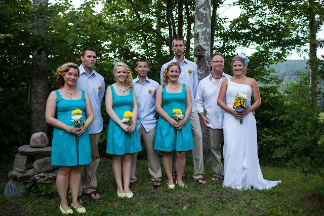 Синьо жовте весілля