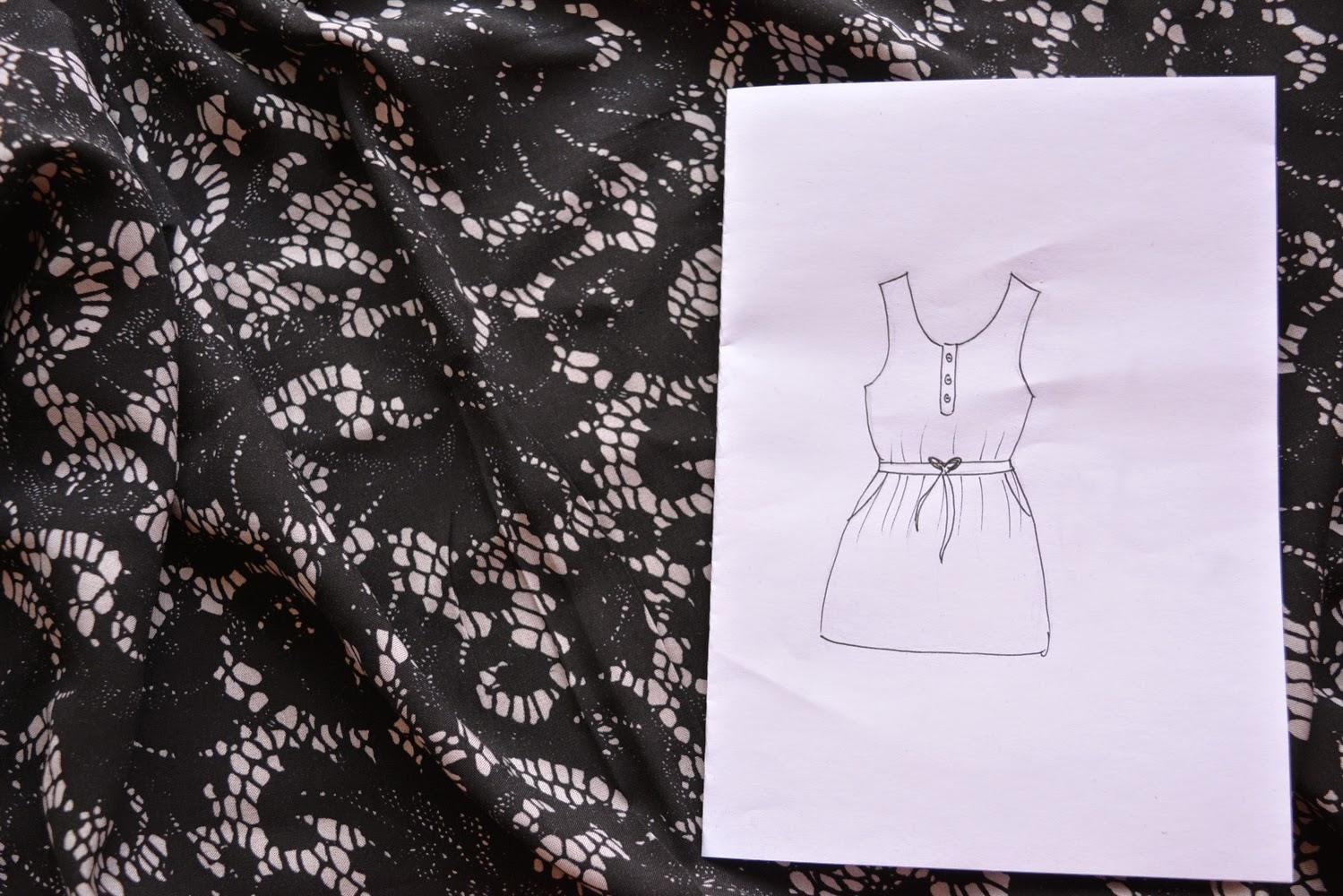 7 Sachen Sonntags - Von der Skizze zum Kleid
