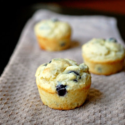 ... Bakes - There's always room for dessert!: Blueberry ricotta muffins