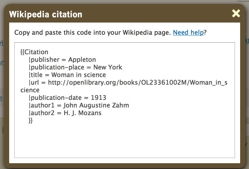 citation bibliography