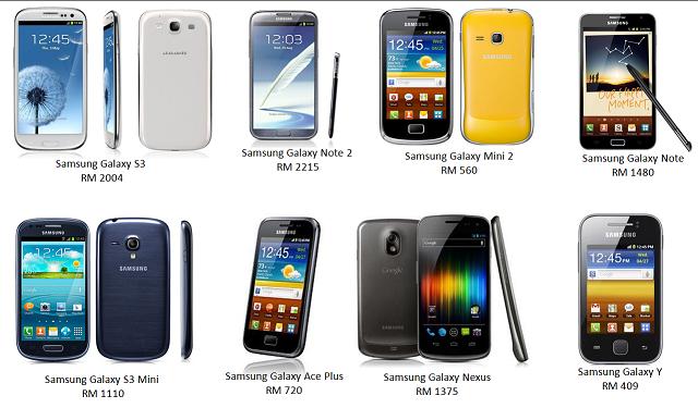Rebat RM 200 untuk model Samsung