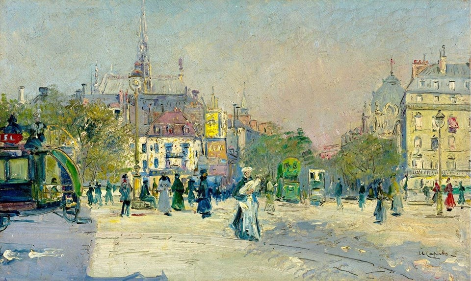 Ulisse Caputo A busy street