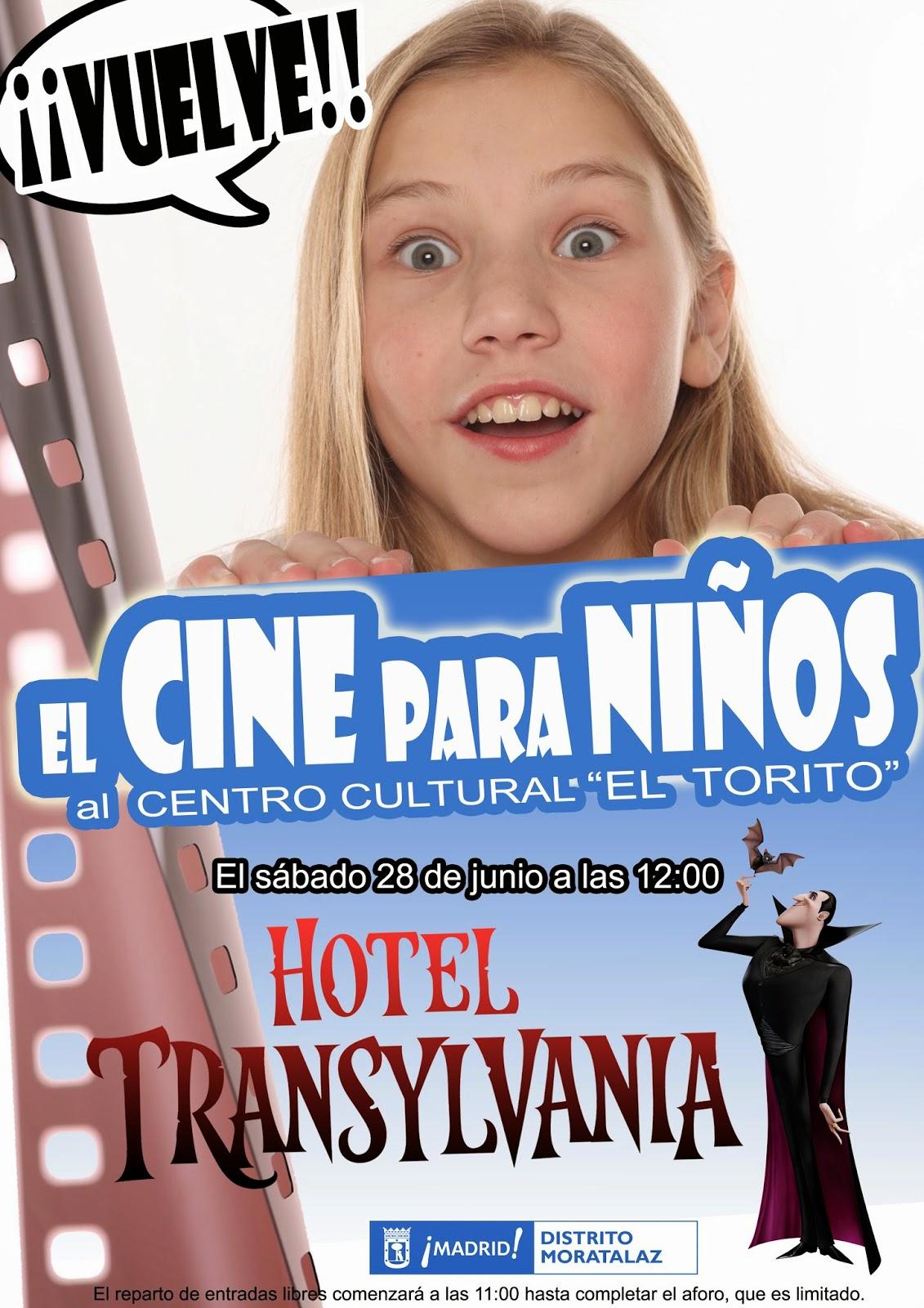 """Cine para niños en """"El Torito""""."""