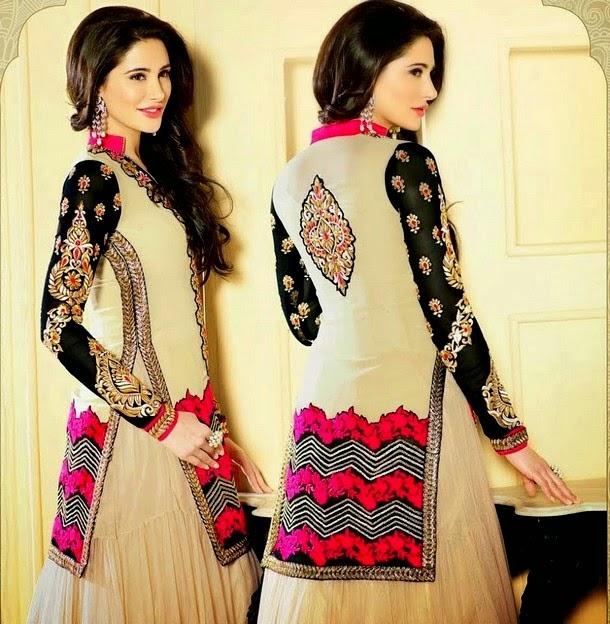 Nargis Anarkali Dresses Suits 2014