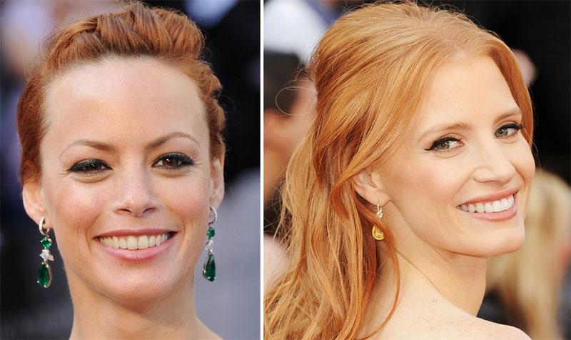 make2 As melhores maquiagens do Oscar 2012