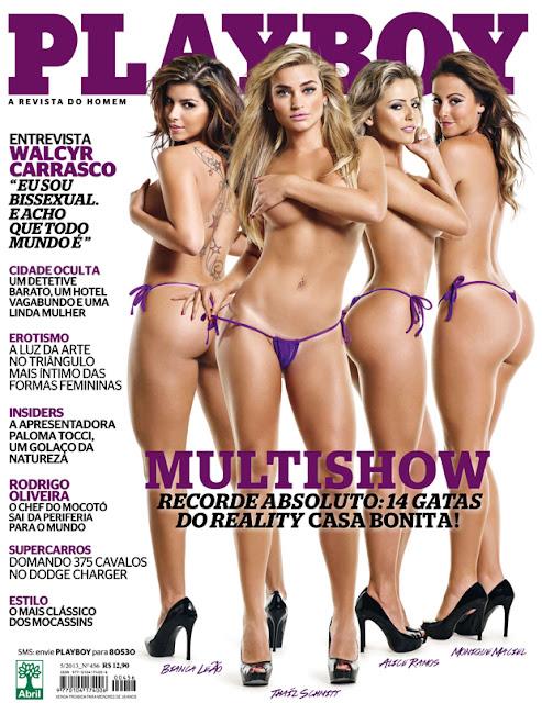 - Playboy Maio 2013 - Gatas do Casa Bonita - Download de Todas Fotos