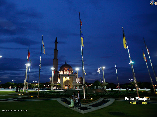 Kuala Lampur Putta Mosque Wallpapers