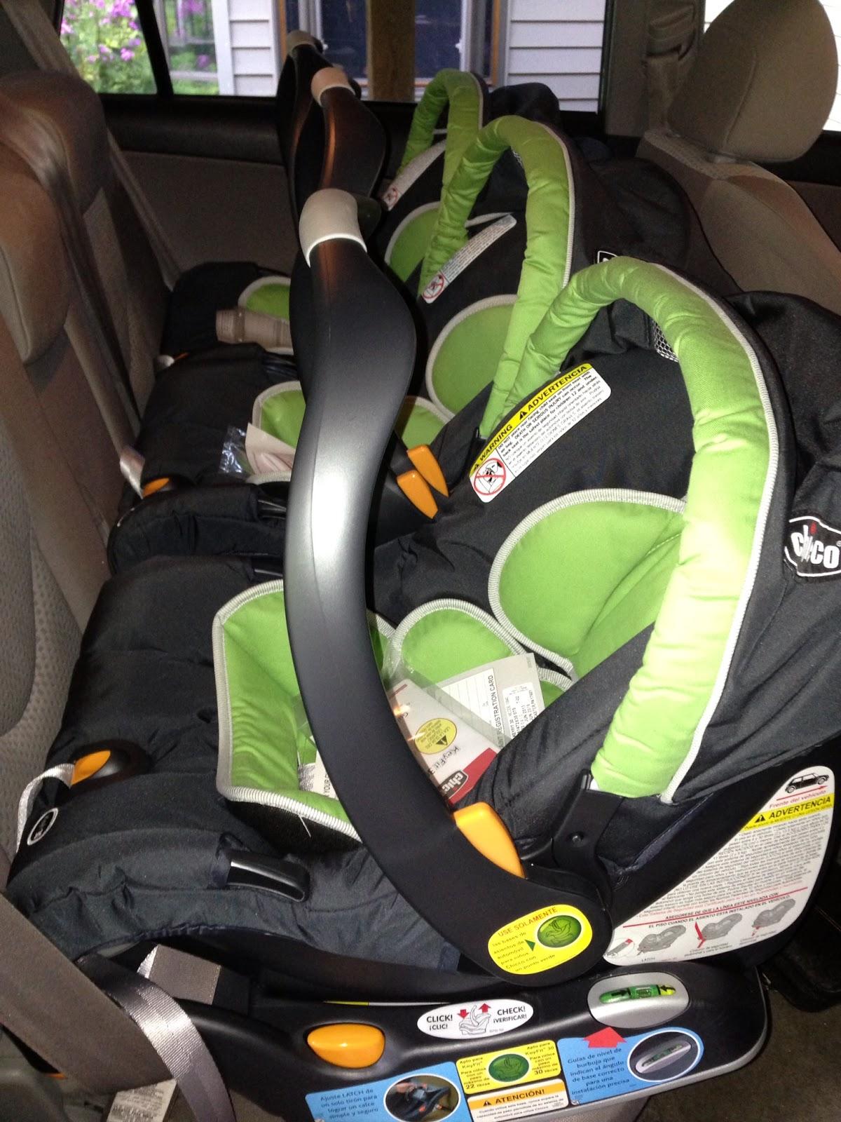 Rav Two Infant Car Seats