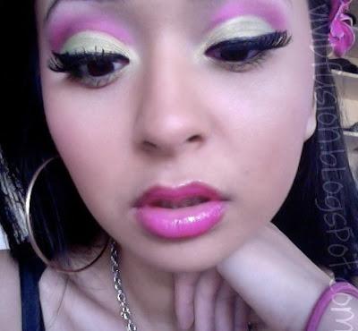 vividfusion eotd barbie loves mac inspired makeup tutorial