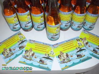 Centro de Mesa e DVD Personalizado - Bodas de Pérola