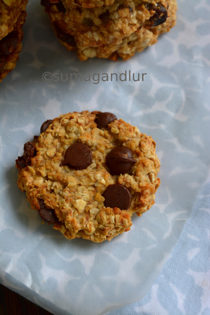 Oat – Banana Cookies (Using 3 Ingredients)