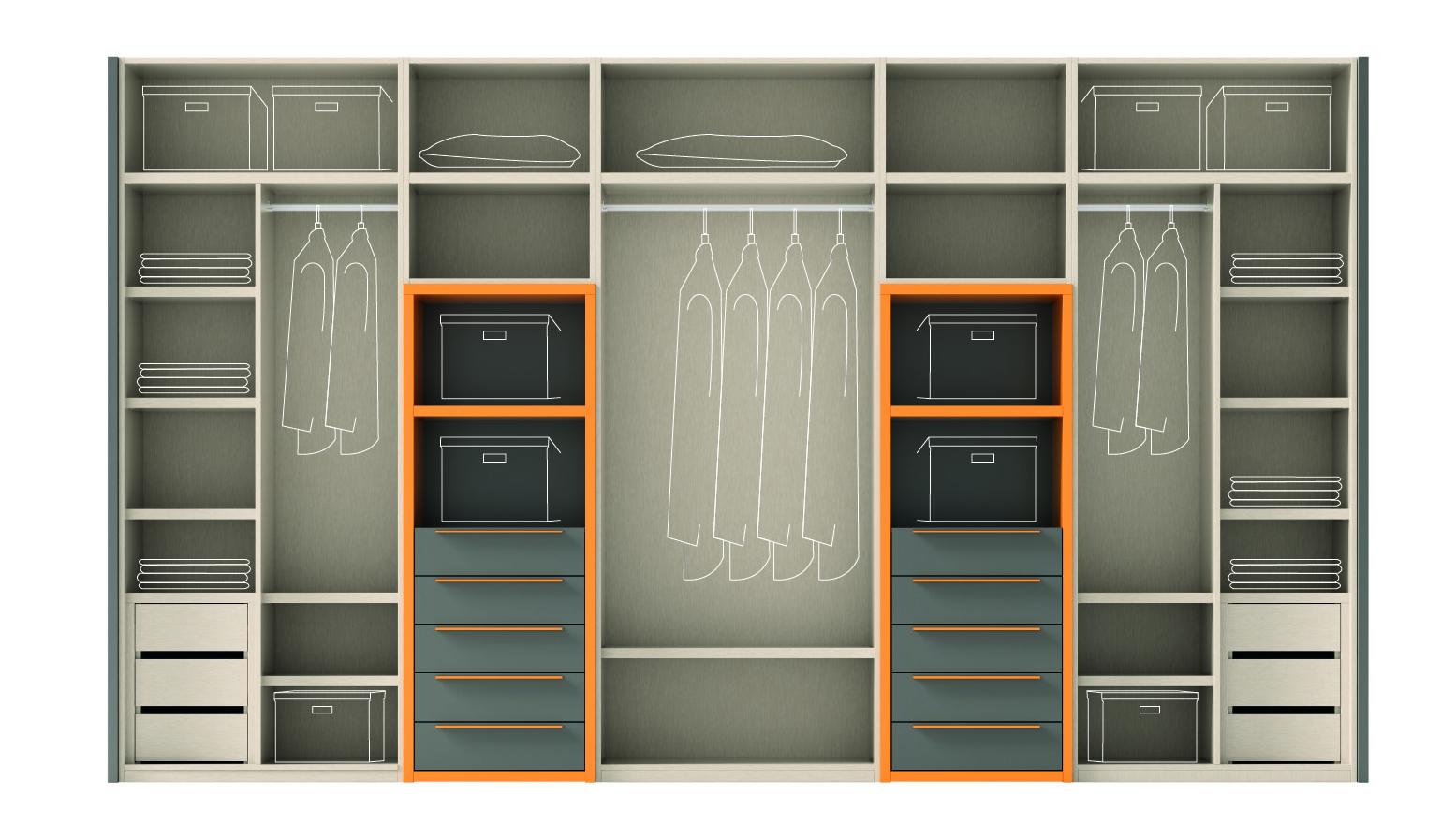 Armarios. Interiores y almacenaje - Blog de Muebles Ros