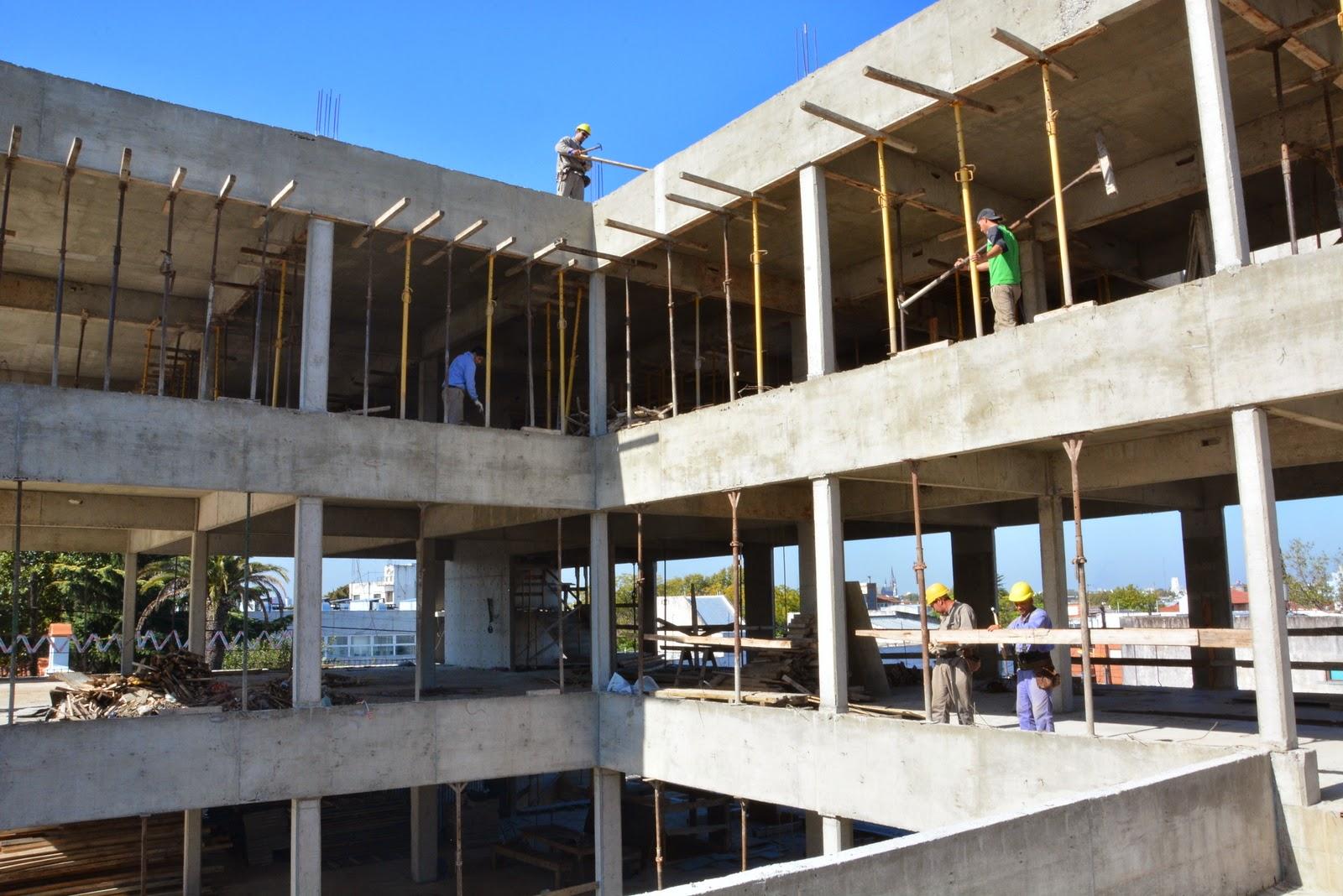 Vicente Lopez Culmino La Primera Etapa Del Nuevo Edificio