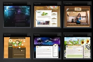 blogger widget arrange blog post in gallery view