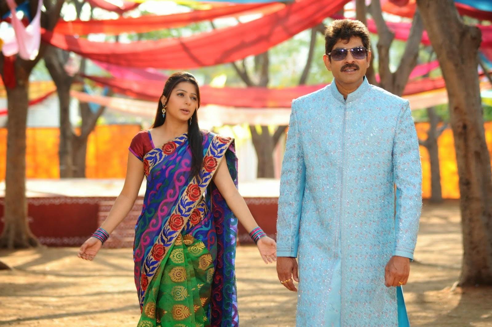 april fool telugu movie stills jagapathi babu amp bhumika