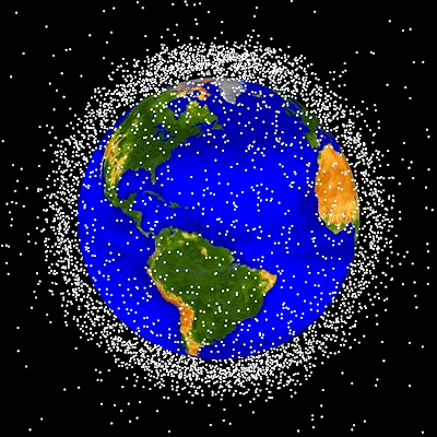 Space Junk in Orbit