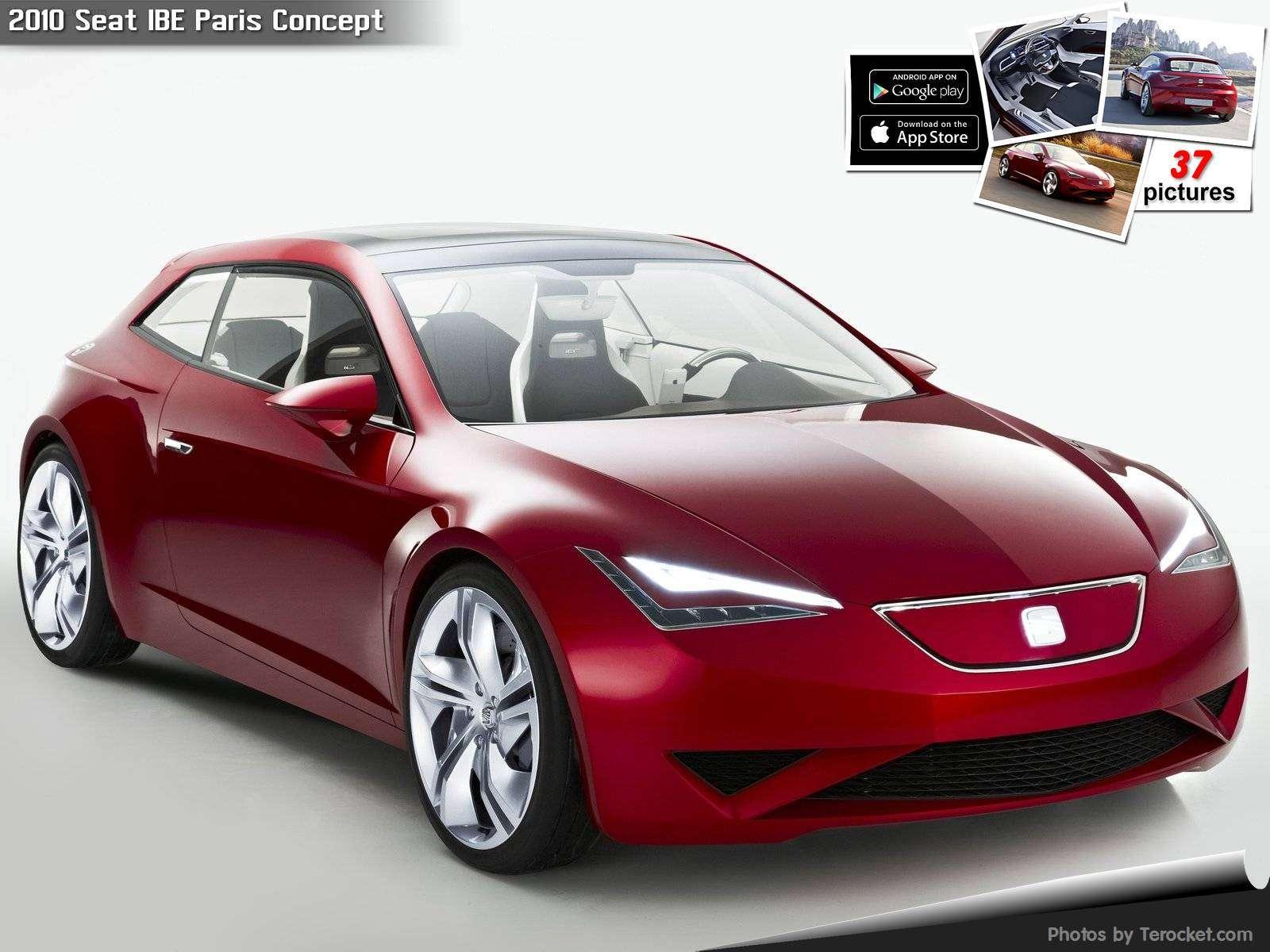 Hình ảnh xe ô tô Seat IBE Paris Concept 2010 & nội ngoại thất