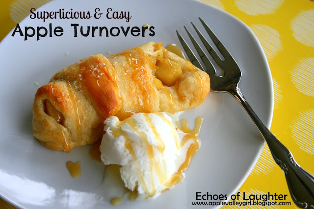 Echoes of Laughter: Superliciously Easy Apple Turnovers...