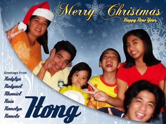 Itong Family Christmas 2012