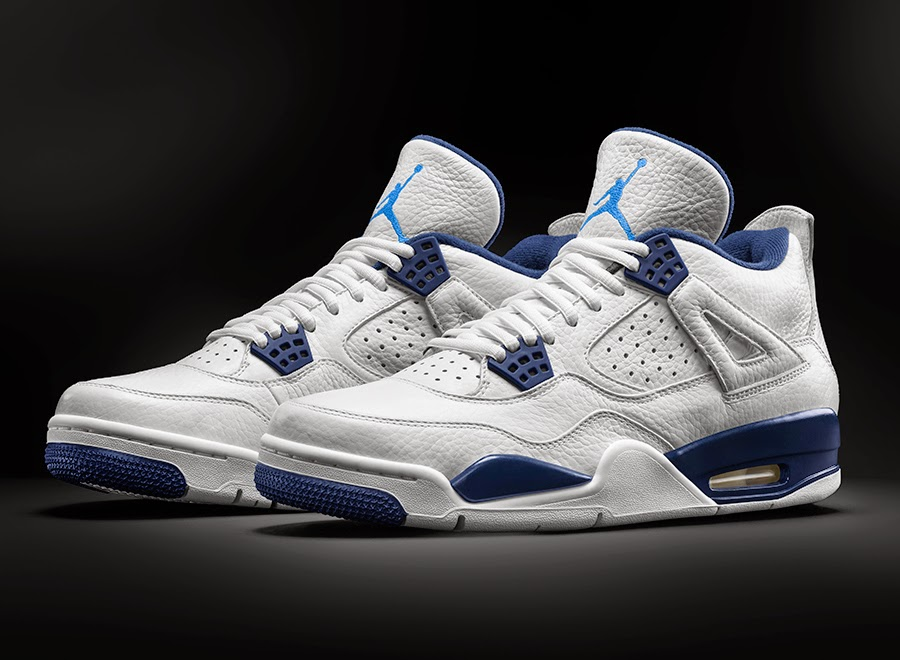 Air jordan 4 legend blue columbia