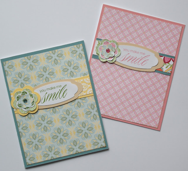 Close To My Heart Chantilly and Hooray Bouquet stamp set