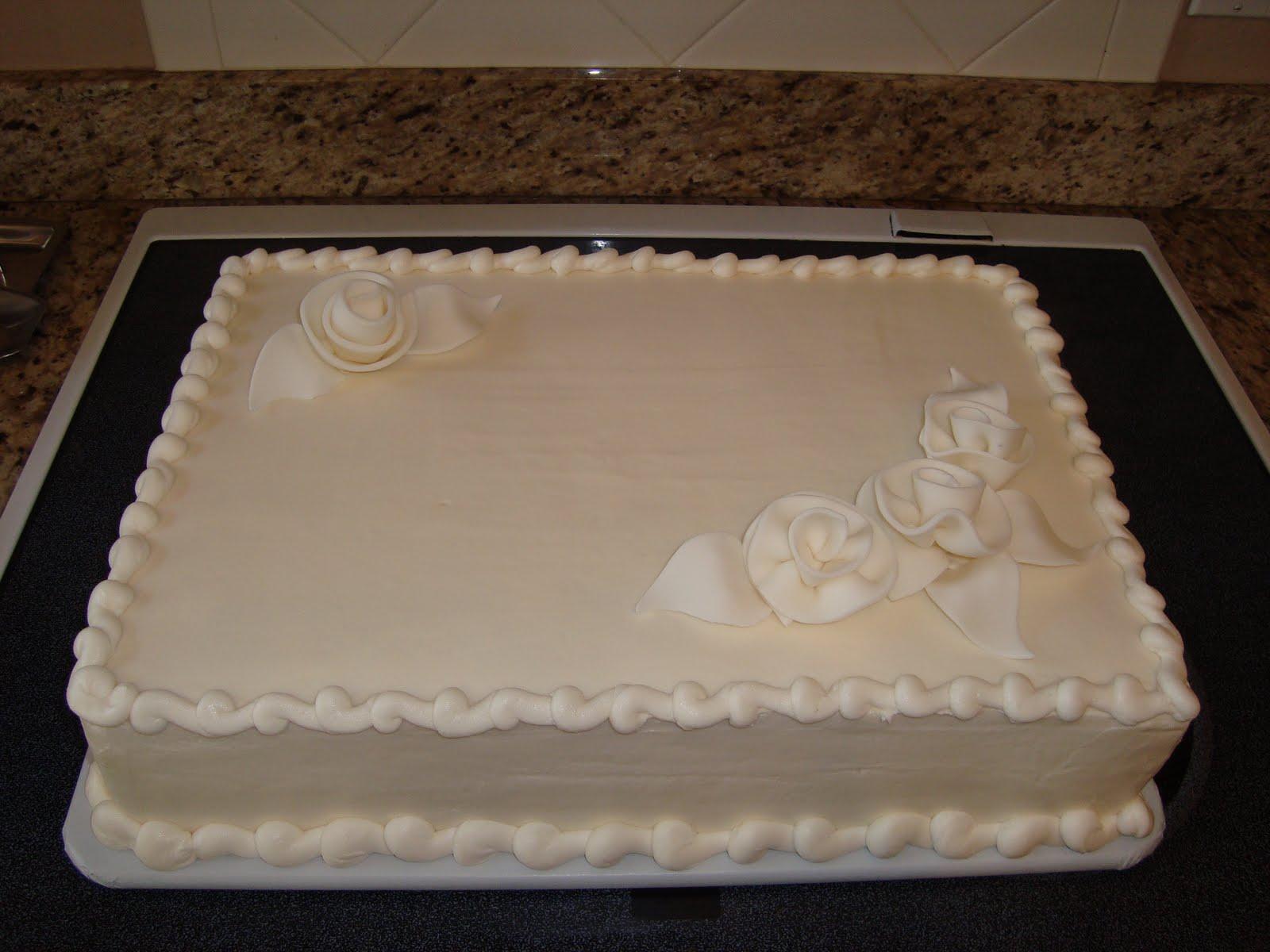 Chocolate Wedding Sheet Cake This Sheet Cake Was Ordered