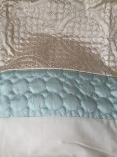 Dunelm duck egg blue circles duvet cover