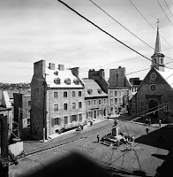 historic Basse-Ville _Lower Town_ in Quebec City