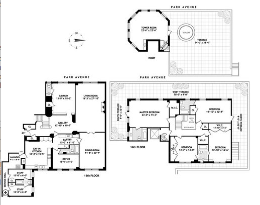 A library of design floor plan porn for Triplex floor plans