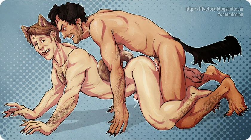 nsfw slash hannibal nbc porn yiff fanart adult erotic comics shiba-inu pinup wallpaper naughty art anthro art bara werewolf weredog