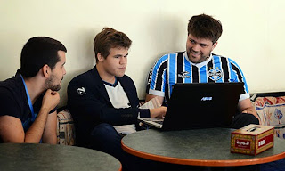 Echecs : Magnus Carlsen - Photo Chessbase